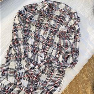 Beachlunchlounge flannel shirt